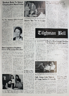 Tilghman Bell - March 25, 1966