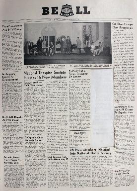 Tilghman Bell - May 9, 1952