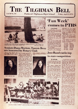 Tilghman Bell - April 5, 1974