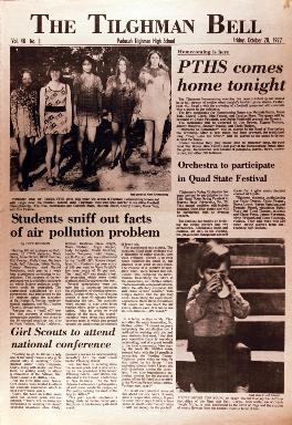 Tilghman Bell - October 20, 1972