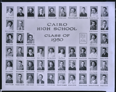 Cairo High School 1950