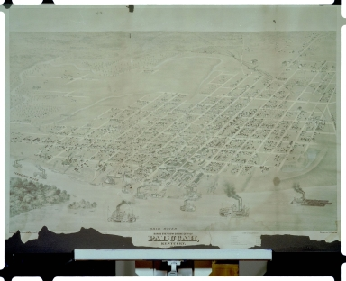 1873 Map of Paducah