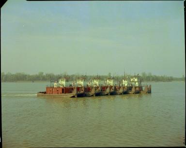 A Fleet of Towboats