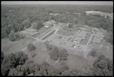 Charter Hospital, Aerial photograph