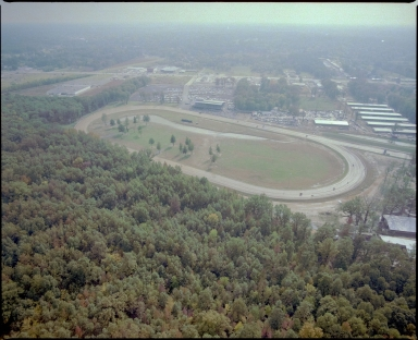 Aerial of Bluegrass Downs