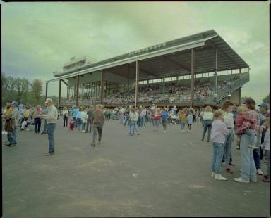 Grandstand at Bluegrass Downs
