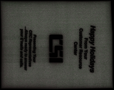 Computer Services, Inc., Card