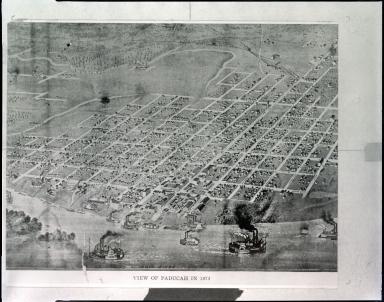 Fairhusrt, View of Paducah In 1873