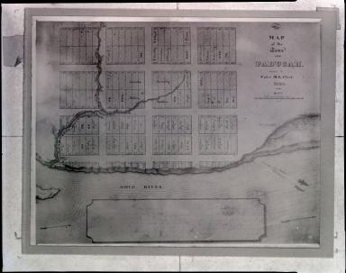 Fairhusrt, Map of the Town of Paducah