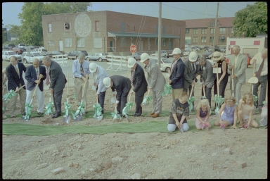 Four Rivers Center Groundbreaking