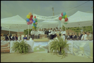 Four Rivers Center Groundbreaking, Choir