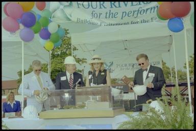 Four Rivers Center Groundbreaking, Desiree Owen Lyles