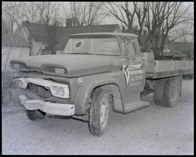 Geo. Effinger, Venable Construction Company Truck