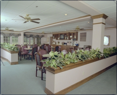 Holiday Inn Express Dinning Hall