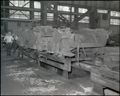 Large Locomotive Component
