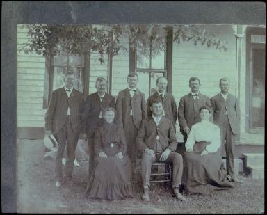 Gene Katterjohn Family photograph