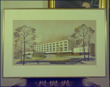 Lourdes Hospital Painting