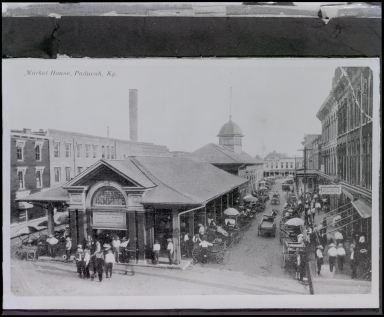 Market House Postcard