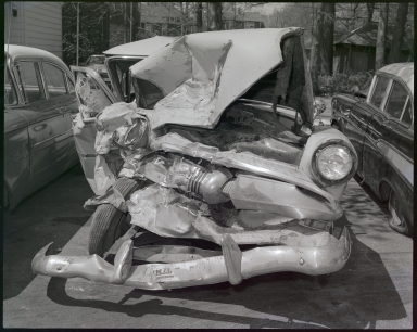 Wrecked Automobile
