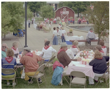 Square Dance in Dolly McNutt Memorial Plaza