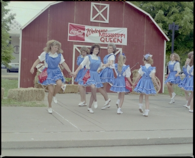 Square Dancers in Dolly McNutt Memorial Plaza