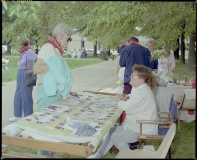 Quilting in the Park