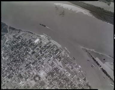 Aerial of Downtown Paducah