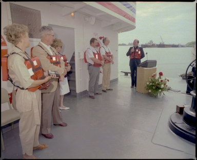 Dedication of the MV Twin Cities
