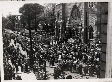 Funeral of Alben Barkley