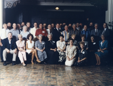 50th anniversary reunion of Heath High School class of 1955