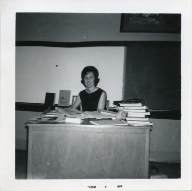 Science teacher Gayle Powers
