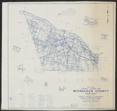 McCracken County (KY) roads and highways