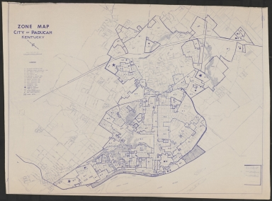 City of Paducah (KY) Zone Map