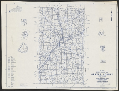 General Highway Map, Graves County (KY)