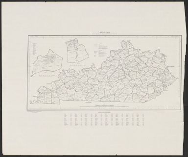 Kentucky County Subdivisions
