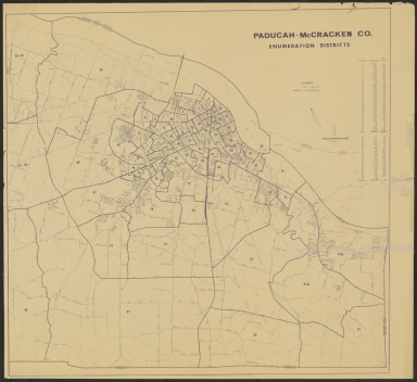 Paducah-McCracken County (KY) Enumeration Districts