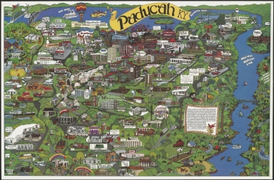Map of Paducah (KY)