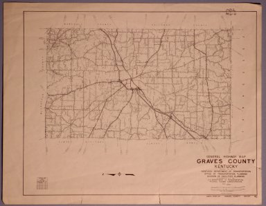 Graves County Highway Map