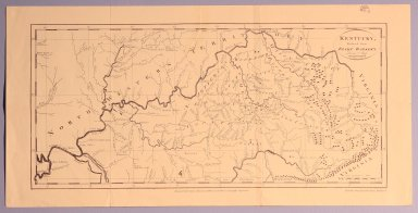 Kentucky, Reduced from Elihu Barker's Large Map