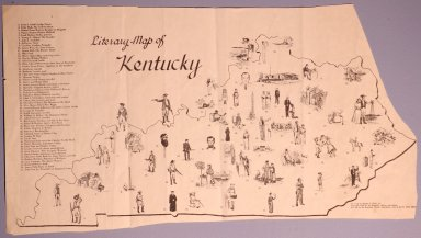 Literary Map of Kentucky