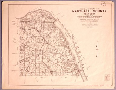 Marshall County Highway Map