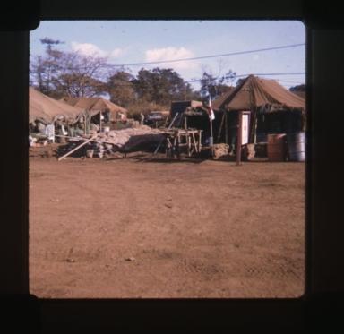 Medic's tent