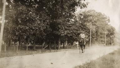 John William Bell on Horse