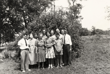 Bell family gathering
