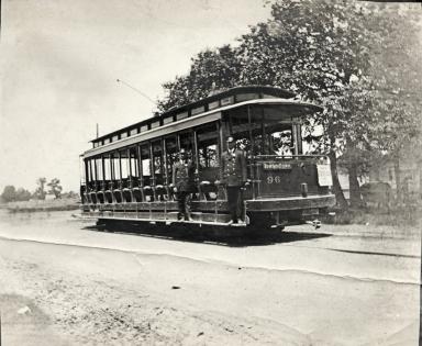 Rowlandtown street car