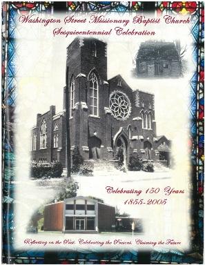 Washington Street Baptist Church Sesquicentennial Celebration