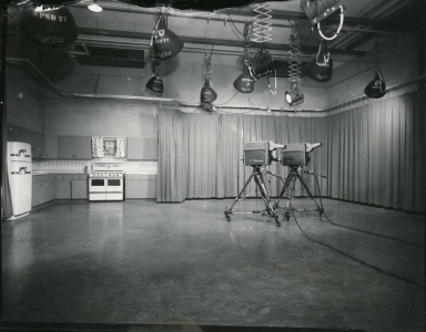 WPSD studio and kitchen set