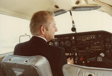 Station pilot Bill Watson