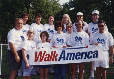 WPSD Walk America team