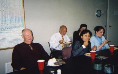 Robert Croft, David Jernigan, Imelda Dixon and Jennifer Pendley